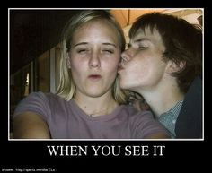 First you won't be able to see it, then you won't be able to un-see it. - Family Photo you see it, timed Seriously Funny, Stupid Funny, The Funny, Hilarious, Funny Images, Funny Pictures, Creepy Pictures, Scary Photos, When U See It