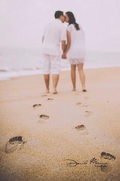Vivi e Edu - Ensaio Fotográfico na Praia