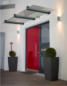 Over door glass canopy pinteres for Pool design dessau