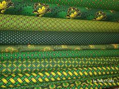 Juicy green shweshwe fabric #shweshwe #africanheritage #fabric #cotton #dagamatextiles