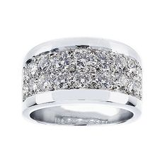 Birks Pave by Toni Cavelti 18k - white gold and platinum (also available in one row of diamonds)
