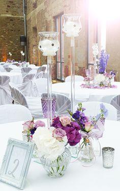 Tischdeko Hochzeit im Jagdschloss Platte Wiesbaden