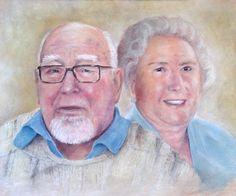 Portraitservice Britta Ingwersens Parents by Jens H. Westermann, #art #artist #painting #Kunst #Künstler #Malerei #Westermann