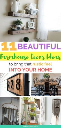 11 Farmhouse Decor Ideas To Create That Rustic Feel