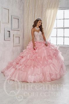 Quinceanera Collection 26824 Ballgown Formal – Anna Grace Formals