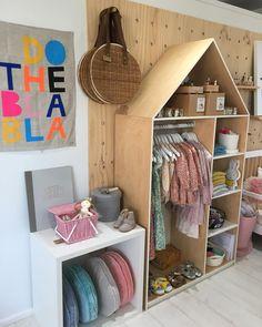 In my hood children's lifestyle store, dural nsw. Kids Store, Baby Store, Shop Interior Design, Store Design, Design Design, Visual Merchandising Displays, Retail Displays, Window Displays, Architecture Art Nouveau
