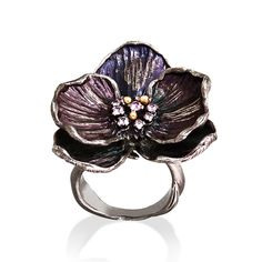 Orchid Pink Sapphire Ring