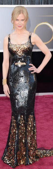 Nichole Kidman at the 2013 Academy Awards - L'Wren Scott