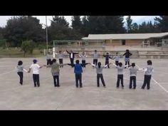 Educación Física Calentamiento Y Juegos De Equipo - YouTube