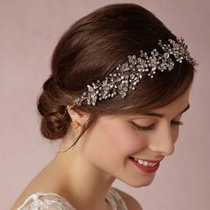 Cheap wedding crown, Buy Quality bridal headband directly from China wholesale tiaras Suppliers: Silver plated tiara luxury bridal headband handmade headdress wholesale pearl jewelry wedding crowns hair accessories Wedding Headband, Wedding Headdress, Bridal Crown, Bridal Headbands, Pearl Headband, Wedding Crowns, Wedding Tiaras, Wedding Bride, Bridesmaid Headband