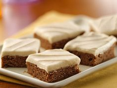 Betty Crocker Carrot Cake Bars with Cream Cheese Frosting