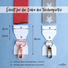 Sew pocket belt to change - crearesa.de Sew pocket belt to change – crearesa. Sewing Hacks, Sewing Tutorials, Sewing Patterns, Sewing Tips, Knitting Patterns, Crochet Patterns, Sewing Crafts, Techniques Couture, Sewing Techniques