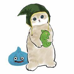 Chibi Dog, Kitten Drawing, Easy Doodles Drawings, Fluffy Kittens, Watercolor Cat, Furry Art, Cat Art, Cute Cartoon, Cute Cats