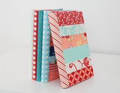 Handmade Christmas Gifts – Journal Covers