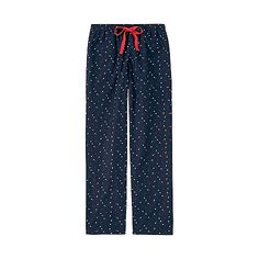 These comfortable lounge pants feature the warm, soft texture of brushed flannel material with prewashed fabric for a fluffy, gentle feel. The fun, cute multicolored starry sky pattern adds a fashionable touch, great for relaxing at home or running a quick errand.