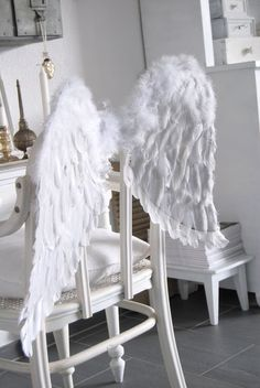 Image result for angel wings tin foil diy