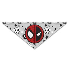 ALIIXUN2 Spidey Pool Logo Pets Dogs Cats Puppy Bandana Bibs Triangle Head Scarfs Accessories -- More infor at the link of image  : Dog Bandanas
