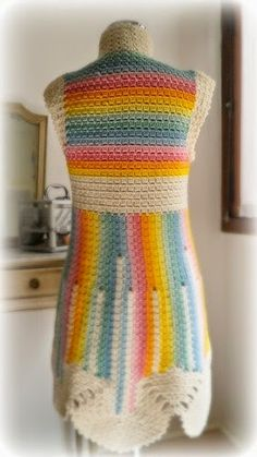 Crochet patterns: How to Crochet Cluster Stitch Clothing – Free Instructions and Ideas
