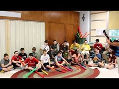 """""""Lion Sleeps Tonight"""" - boomwhackers/recorders/drums by doreen.m"""