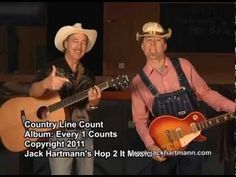 Sample - Country Line Count to 30 by 1 by Jack Hartmann Counting To 120, Counting Songs, School Songs, School Videos, Kindergarten Math Activities, Preschool, Tiger Dance, Count Count, Jack Hartmann