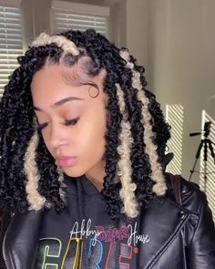 Faux Locs Hairstyles, Braids Hairstyles Pictures, Protective Hairstyles, Black Girl Braided Hairstyles, Twist Braid Hairstyles, African Braids Hairstyles, Baddie Hairstyles, Protective Styles, Braided Hairstyles For Wedding