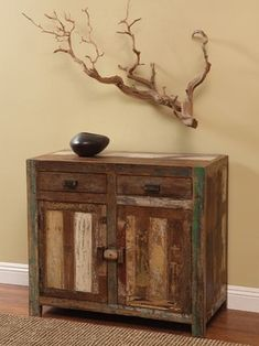 Shabby Chic Small Server - eclectic - buffets and sideboards - new york - Zin Home
