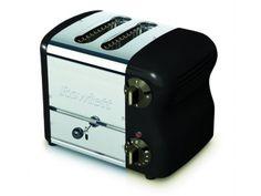 Rowlett Esprit 2 Slice Bread Toaster in Black - Toasters - Electronics