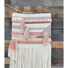 Woven Art by SunWoven via Etsy