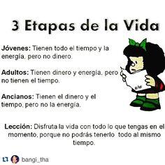 ¡A disfrutar AHORA!!! Rt #Repost @bangi_tha ¡La puritita verdad!!! #MafaldaSiQueSabe Web Instagram User » Collecto