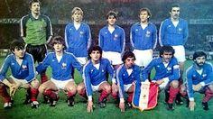 EQUIPOS DE FÚTBOL: SELECCIÓN DE FRANCIA 1982-83