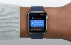 Google Maps Latest In Line to Pull Apple Watch App - http://appinformers.com/google-maps-latest-line-pull-apple-watch-app/10114/