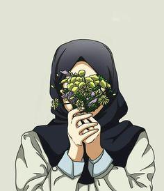 Wallpaper for android and iphone Wallpaper Hp, Whatsapp Wallpaper, Girl Cartoon, Cartoon Art, Hijab Drawing, Islamic Cartoon, Anime Muslim, Hijab Cartoon, Hijab Niqab