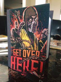 Mortal Kombat Invitations
