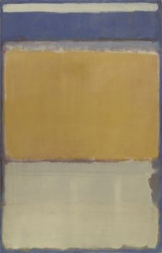 No. 10  Mark Rothko (American, born Russia (now Latvia). 1903-1970)    1950. Oil on canvas