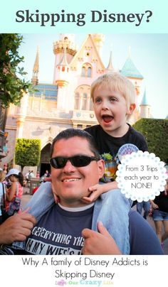 Skipping Disney vacation. Why a family who went to Disneyland decided to skip Disney with their travel plans