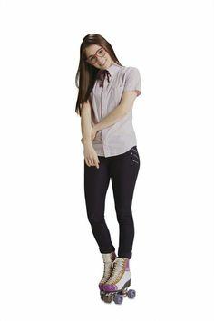 Nina en patines