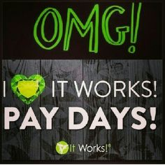 I love my business.....is payday