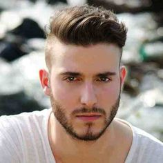 edgy half short hairstyles men - Google Search