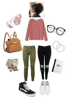 """""""dorm shopping✨"""" by angeliqueamor on Polyvore featuring Toast, Boohoo, Current/Elliott, ZAC Zac Posen, Vans and Beats by Dr. Dre"""