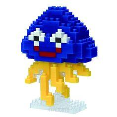 Dragon Quest NANO BLOCK : Hoimi Slime [Heal Slime]
