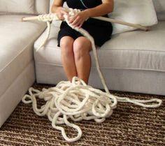 Observatório Feminino - Maxi tricô ou crochê são tendências em decoração de interiores