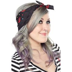 Sourpuss Tattooed Lady Rosie Scarf