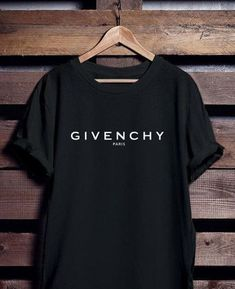 GIVENCHY Paris T-Shirt AY, This t-shirt is Made To Order, one by one printed so we can control the quality. Givenchy Paris Shirt, Chanel Shirt, Balenciaga Shirt, Versace T Shirt, Givenchy Women, Paris T-shirt, Man Street Style, Gucci Shirts, Woman Shirt