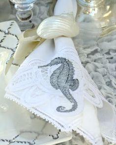 Iron on! Or How to Make Fabric Napkins Sea Worthy