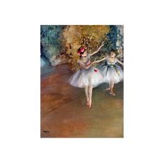 Degas: Dancers, C1877 Giclee Print Wall Art ($60) ❤ liked on Polyvore featuring home, home decor, wall art, dramas, dramas by title, entertainment, movies, movies by genre, movie wall art and movie posters