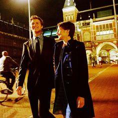 Hazel Lancaster (Shailene Woodley) and Augustus Waters (Ansel Elgort)