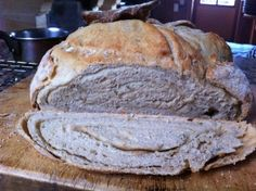 Lavender Bread... More salt, less sugar