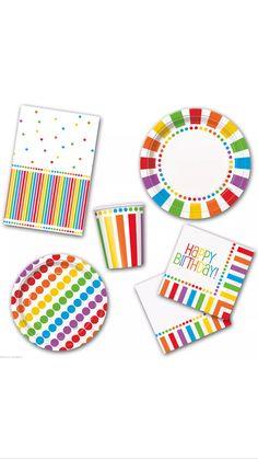 Rainbow party - table wear - eBay