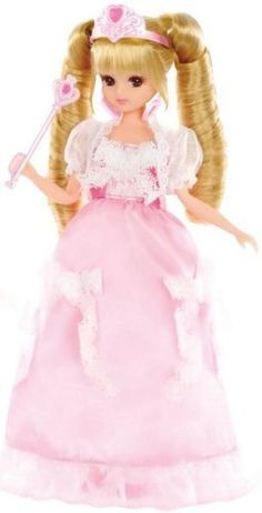 Licca Chan: LW-19 Licca Chan PURINSESUDORI MUDORESUSETTO Doll by Takara Tomy: Toys & Games