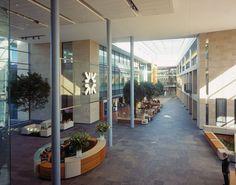 RBS World HQ, Gogarburn, Edinburgh - 'the street' Aerial